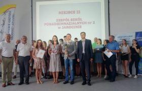 ZSP 2 - wicemistrzowie Wielkopolski  w zmaganiach na najbardziej usportowioną szkołę województwa wielkopolskiego