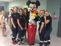 Zajęcia liceum ratowniczego w szpitalu w Ostrowie Wlkp